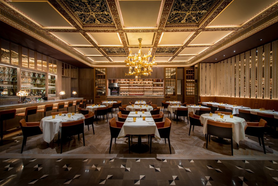 The New Grill at Dorchester, best breakfast places, dorchester london, alain ducasse, chef Christophe Marleix