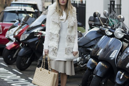 furry-gilet-nude-maxi-leather-skirt-turtleneck-jumper
