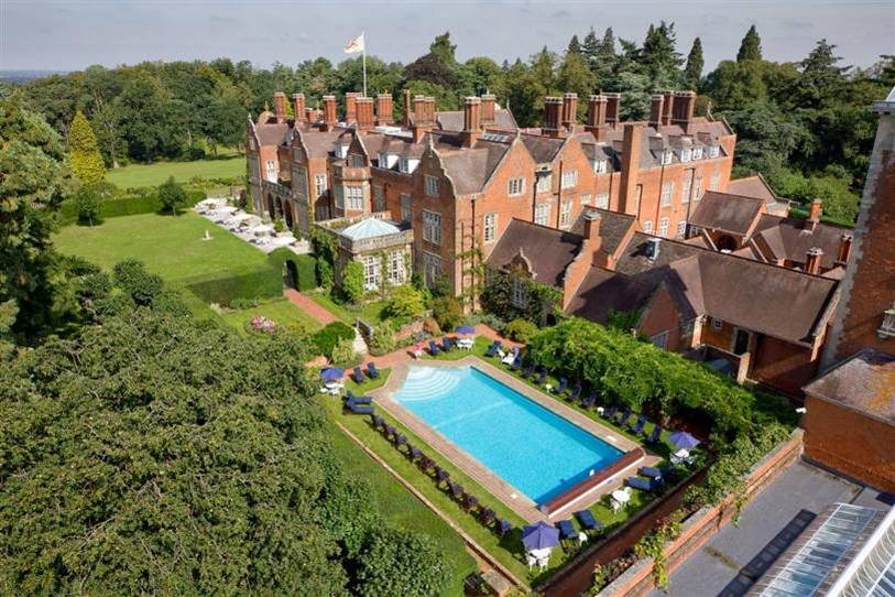 Weekend Away Tylney Hall Hotel In Hampshire Camila Carril