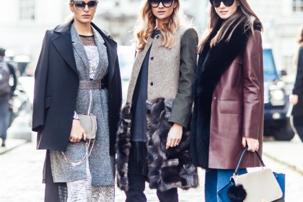 london fashion week, camila carril, zina charkoplia, zina fashion vibe, nina suess, lfw, street style