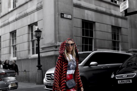 M MISSONI COAT, JIMMY CHOO SHOES, MISGUIDED SKIRT, GESTUZ TOP, LFW STREETSTYLE