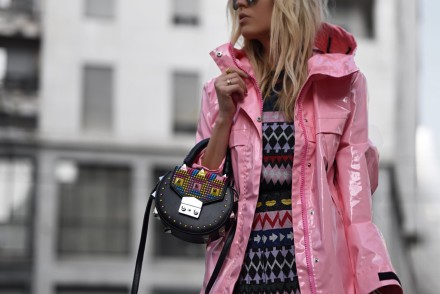 Pink it, Camila Carril Street Style, MFW