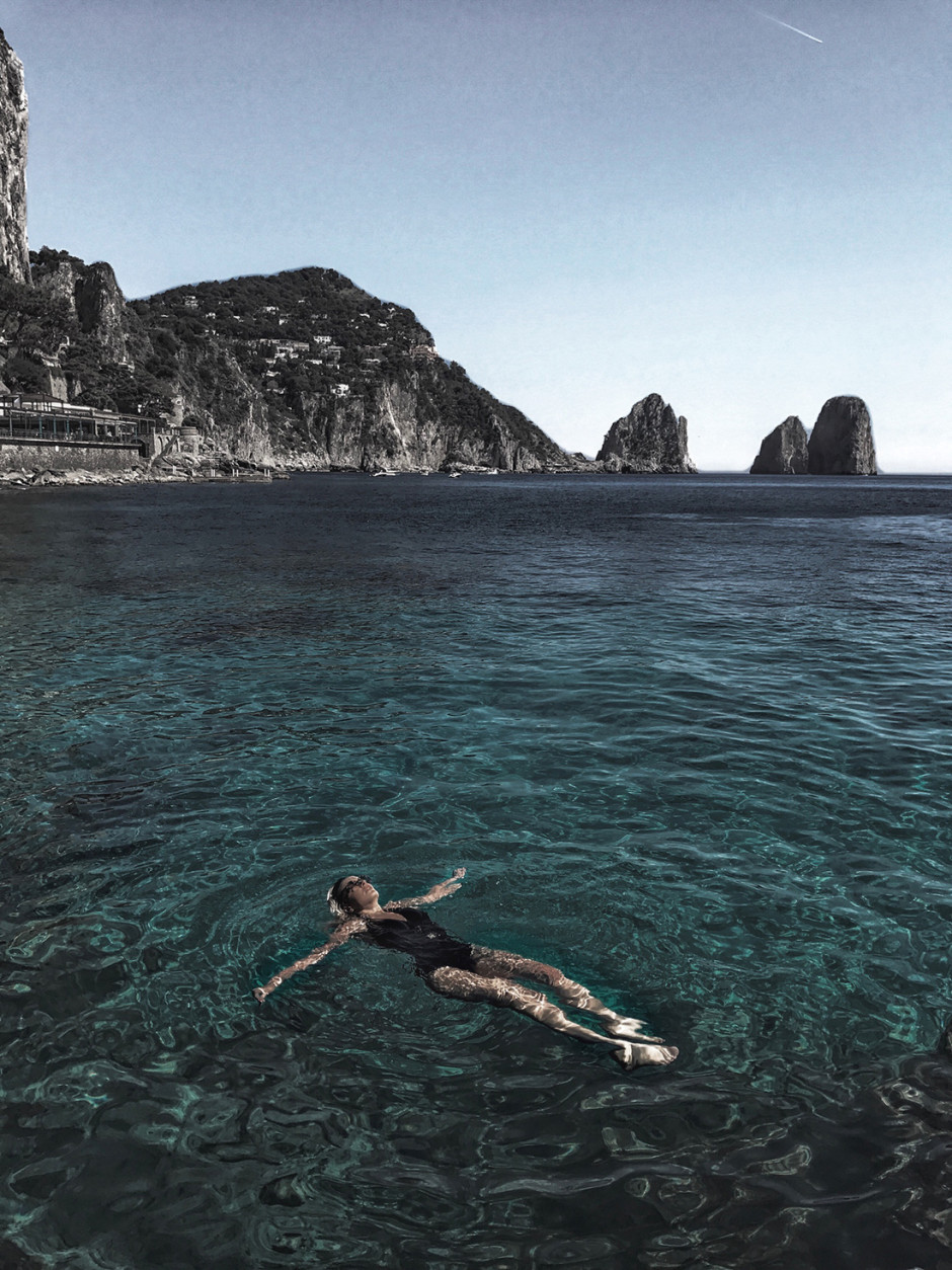 Positano with Tom Ford, Camila Carril, Italy, Positano, Tom Ford