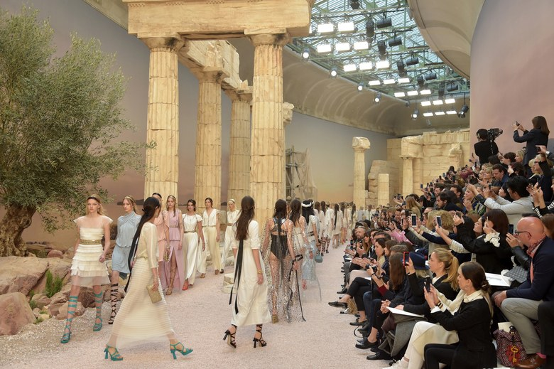 Cruise Chanel 2018, The Modernity of Antiquity, Grand Palais, Paris, Chanel